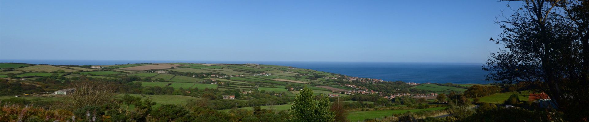 View from Sledgates to Robin Hoods Bay