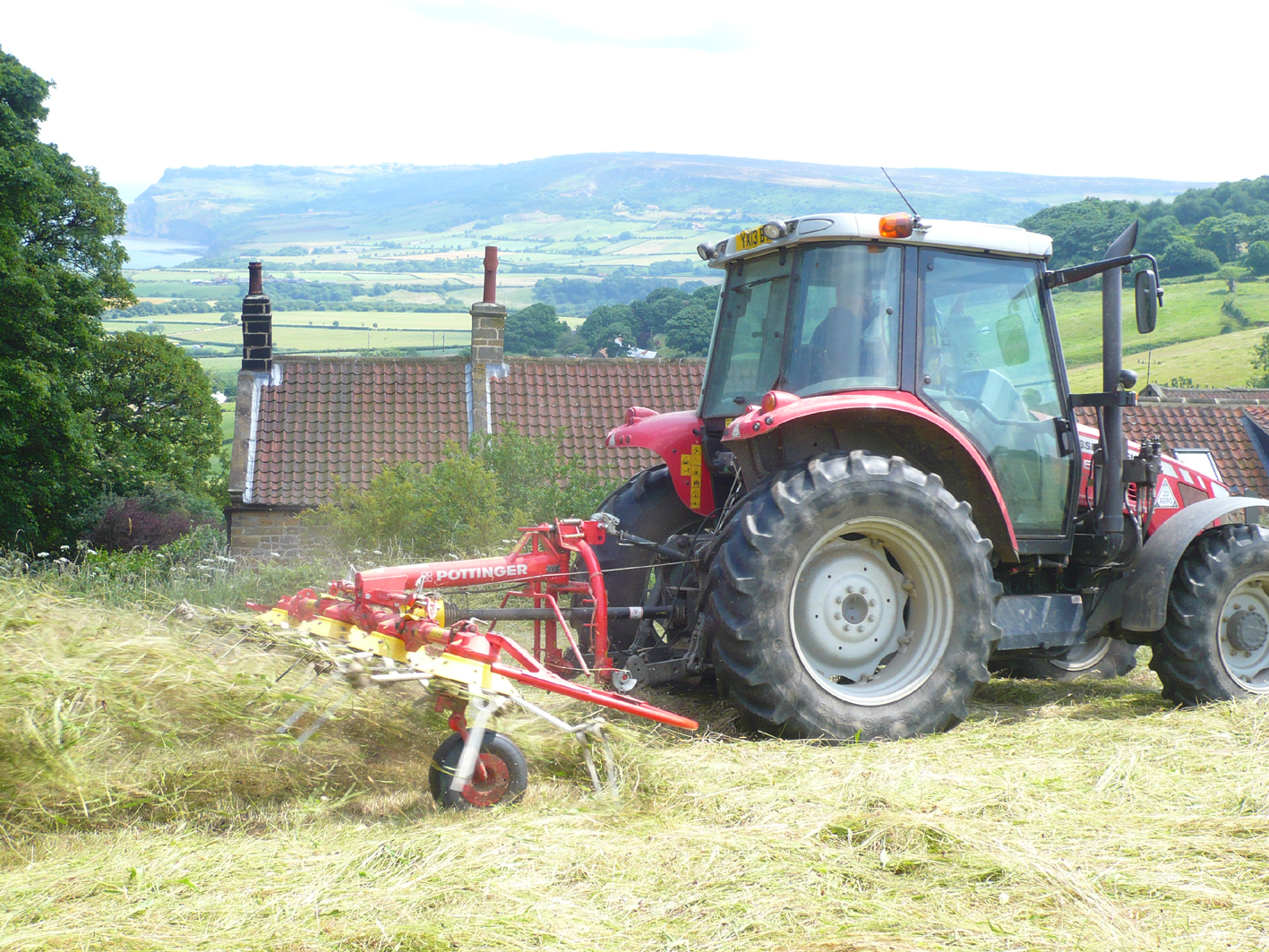 Haytime at Skerry Hall