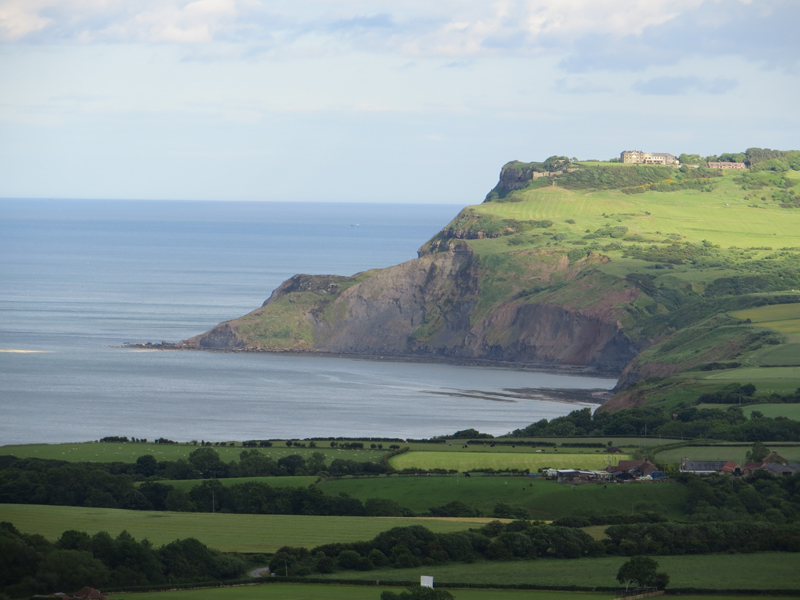 Ravenscar from Skerry Hall Farm